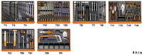 Click for a larger picture of Beta 2400S8-O/VI3T C24S/8-O Cab + 142 Pc Industrial Tool Set