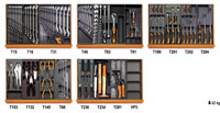 Click for a larger picture of Beta 2400SL-O/VI2T 151 Pc Industrial Tool Set + C24SL-O Cab