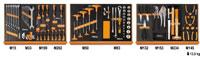 Click for a larger picture of Beta 2400S5-G/VU1M C24S/5-G Cab + 91 Pc Universal Tool Set
