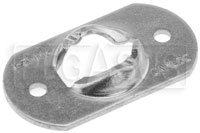 Click for a larger picture of Camloc 991F Series Receptacle, Zinc Plated