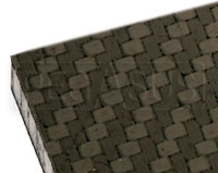 Click for a larger picture of Carbon Fiber Sheet with Honeycomb Core, 1/8 inch thick