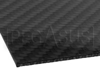Click for a larger picture of Carbon Fiber Sheet with Honeycomb Core, 1/16 inch thick