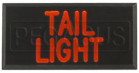 Click for a larger picture of Clearance Dash Badge Identification Plate (Tail Light)