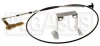 Click for a larger picture of Canton Accusump Manual Valve & Actuator Cable Kit, 6 ft.