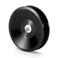 "Click for a larger picture of Canton 3.25"" Dia. V-Belt Alternator Pulley for 15mm Shaft"
