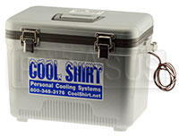 Click for a larger picture of Cool Shirt Club 13 Quart System, Cooler and Pump Only