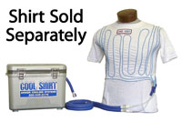Click for a larger picture of Cool Shirt 12 Quart Club System, Cooler and Hoses Only