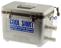 Click for a larger picture of Cool Shirt Pro Air and Water Cooler Only, 13 Quart