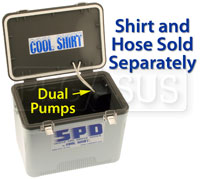 Click for a larger picture of Cool Shirt SPD Dual Pump Cooler