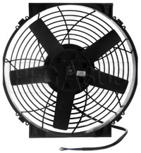 Click for a larger picture of Davies Craig 14 inch Electric Fan Short (Fan Only), 12V