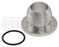 Click for a larger picture of Davies Craig 6-Bolt Flange Adapter to 1-1/4 NPT Male, Alloy