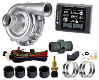 Click for a larger picture of Davies Craig 12v EWP115 Alloy Water Pump w/ LCD Controller