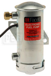 Click for a larger picture of Facet Cylindrical Style 12 Volt Non-Filter Pump, 4-5 psi