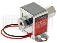 Click for a larger picture of Facet Cube Style 12 Volt Fuel Pump, 1 to 2 max psi