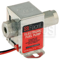 Click for a larger picture of Facet Cube Style 12V Fuel Pump, 9 to 11.5 max psi / 32 GPH