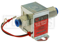 Click for a larger picture of Facet Cube Style 12 volt Fuel Pump, 2 to 3.5 max psi