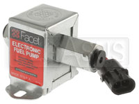 Click for a larger picture of Facet Cube Style 12 Volt Fuel Pump, 1 to 1.5 max psi