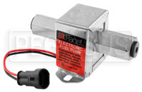 "Click for a larger picture of Facet Cube 12V Fuel Pump, 1/8 NPT, 12-15 psi, 96"" lift"