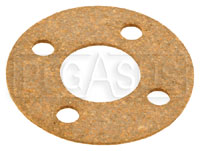 "Click for a larger picture of Fuel Safe Round Gasket, 4 Bolt, 1-5/8"" Bolt Circle"
