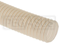 "Click for a larger picture of Fuel Safe 3.00"" Wire Reinforced Clear Filler Hose, Per Foot"