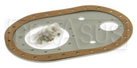 Click for a larger picture of Fuel Safe 6x10 Remote Fill Plate, Offset, 6AN PU, 8AN Vent