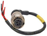 Click for a larger picture of Sealed Female 4 Wire Fuel Pump Harness, Outside Tank