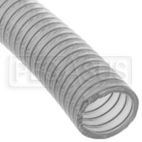 """Click for a larger picture of Fuel Safe 2.00"""" Wire Reinforced Clear Filler Hose, Per Foot"""