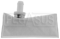 "Click for a larger picture of Fuel Safe Fuel Pickup Sock Filter, Horizontal, for 1/2"" Hose"