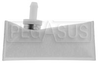"Click for a larger picture of Fuel Safe Fuel Pickup Sock Filter, Horizontal, for 3/8"" Hose"