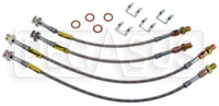 Click for a larger picture of G-Stop Brake Line Set, 63-82 Chevrolet Corvette