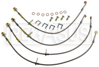 Click for a larger picture of G-Stop Brake Line Set, 2010 Chevrolet Camaro SS