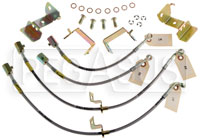 Click for a larger picture of G-Stop Brake Line Set, 05-up Mustang with ABS