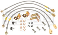 Click for a larger picture of G-Stop Brake Line Set, 2003-05 Dodge Neon SRT-4