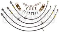 Click for a larger picture of G-Stop Brake Line Set, 06-up Honda Civic SI