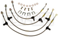 Click for a larger picture of G-Stop Brake Line Set, 00-05 Honda S2000 (all models)