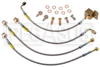 Click for a larger picture of G-Stop Brake Line Set, 89-05 Mazda Miata (all models)