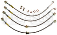 Click for a larger picture of G-Stop Brake Line Set, 93-95 Mazda RX-7 (all models)