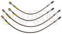 Click for a larger picture of G-Stop Brake Line Set, 02-up Mercedes C Coupe