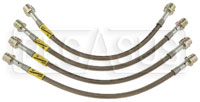 Click for a larger picture of G-Stop Brake Line Set, 05-up Porsche Boxster, Cayman