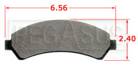Click for a larger picture of Hawk Brake Pad, Chevrolet, GMC Truck (D276)