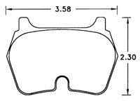 Click for a larger picture of PFC Brake Pad, Carbon Metallic (street), GM Truck