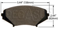 Click for a larger picture of Hawk Brake Pad: Mazda RX-8 (D1009)