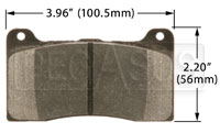 Click for a larger picture of Hawk Brake Pad: Wilwood 78xx Front and Rear