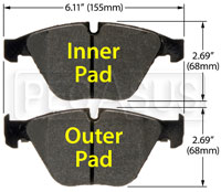 Click for a larger picture of Hawk Brake Pad: 08-10 BMW M3 (D918)