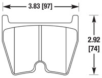 Click for a larger picture of Hawk Brake Pad: Audi RS6, VW Phaeton, Brembo 8-Pot (D1029)