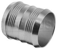 Click for a larger picture of 51mm (2 inch) Pegasus Pro Design Aluminum Hose Joiner
