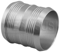 Click for a larger picture of 54mm (2 1/8 inch) Pegasus Pro Design Aluminum Hose Joiner