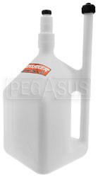Click for a larger picture of Hunsaker 8 gallon QuikFill Dump Can