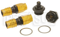Click for a larger picture of Quick Disconnect Carb Kit 7/8-20 (Holley Dual Feed), 6AN