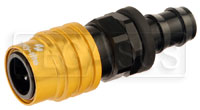 "Click for a larger picture of Quick-Disconnect Socket to 1/2"" Push-Lock Hose Barb"